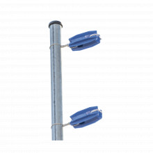 Sfesquinerob Sfire Aislador De Color Azul Para Postes De Esq