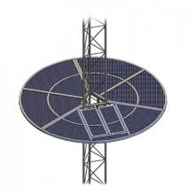 Som30 Syscom Towers Sistema Anti Escala Tipo Sombrilla Para