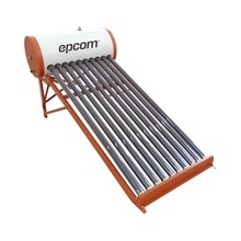 Stelpwh90 Epcom Boiler Solar De Baja Presion Con 9 Tubos De