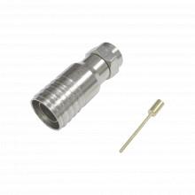 Tt11f03 Epcom Titanium Conector F Macho 75 Ohm De Anillo