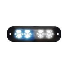 Xtp4bw Code 3 Luz Perimetral 4 LEDs Ultra Brillantes Color