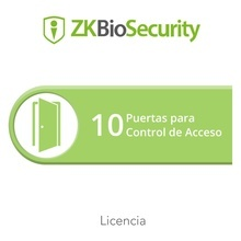 Zkbsac10 Zkteco Licencia Para ZKBiosecurity Permite Gestiona