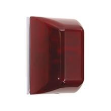 Stisa5000r Sti Sirena De Advertencia Color Rojo Audio-Visu