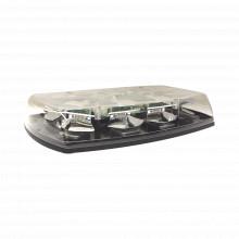 5587cac Ecco Minibarra LED De 15 Color ambar Y Domo Transpar