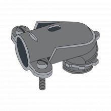 Ancfxc12 Anclo Conector Curvo Para Tubo Flexible 1/2 13mm