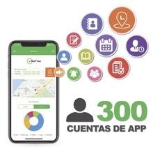 Biotimeapp300 Zkteco Licencia Para Realizar Checadas De Asis