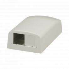 Cbx2iway Panduit Caja De Montaje En Superficie Para 2 Modul