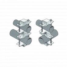 Clamp130 Sinclair Juego Sencillo En Aluminio De Abrazadera D