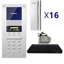 cmx2420005 COMMAX COMMAX AUDIOGATE16PAK - Paquete de Audiop