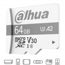 DHT1510002 DAHUA DAHUA TF-P100/64 GB - Dahua Memoria Micro S