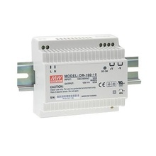 Dr10024 Fuente De Poder Meanwell Din Rail 24 Vcd 4.2A A