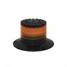 EB7265A Ecco Baliza LED compacta discreta domo ambar color