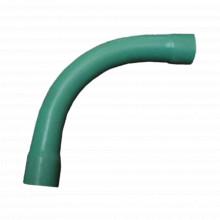 Ec043 Cresco CURVA DE 90 PVC CONDUIT PESADO 4 100 Mm tuber