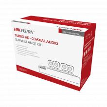 Hk1080cv Hikvision Kit TurboHD 1080p / DVR 4 Canales / 4 Cam