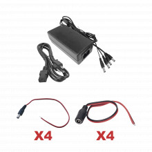 K1ps12dc4c Epcom Powerline Kit Con Fuente EPCOM Con Salida D