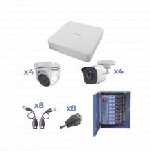 Kestxlt4b4dw Epcom KIT TurboHD 720p / Incluye DVR 8Ch / 4 Ca