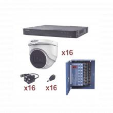 Kh1080p16dw Hikvision KIT TurboHD 1080p / DVR 16 Canales / 1