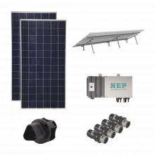 Kit2bdm600lv127 Epcom Kit Solar Para Interconexion De 1.1 KW