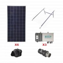 Kit3bdm600lv127 Epcom Kit Solar Para Interconexion De 1.65 K