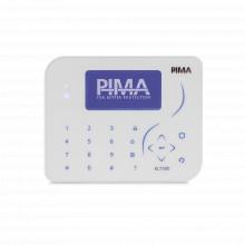Klt500 Pima Teclado Programador Ultradelgado Con Teclas TOUC