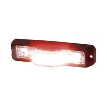 M180sr Code 3 Luz Perimetral Ultra Brillante Color Rojo roj