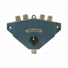Mfj1704n Mfj Switch Coaxial De Servicio Pesado Para 4 Antena