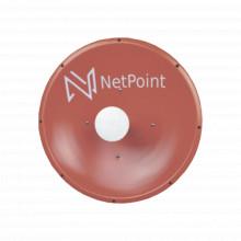 Nptr3 Netpoint Antena Direccional De 4 Ft 4.9-6.2 GHz Gana