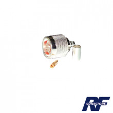 Rfn10072sx Rf Industriesltd Conector N Macho De Anillo Pleg