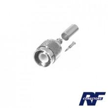 Rft12022 Rf Industriesltd Conector TNC Macho De Anillo Pleg