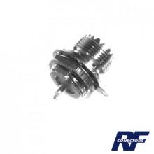 Rfu523 Rf Industriesltd Conector UHF Hembra SO-239 En Lin