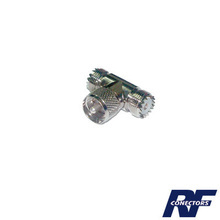 Rfu533 Rf Industriesltd Adaptador En T De Conector UHF Mac