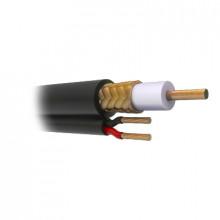 Rg59v1000 Viakon Cable Coaxial RG59 Siames 305M HECHO EN M