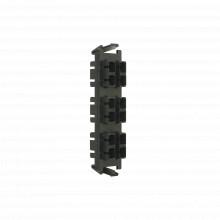 Ricfsc1201c Siemon Placa Acopladora De Fibra Optica Quick-Pa