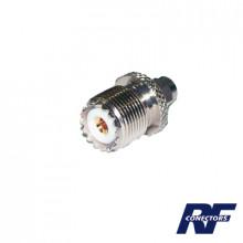 Rsa3457 Rf Industriesltd Adaptador En Linea De Conector SM