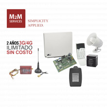 Runner48mini2 Crow 2 Anos 4G ILIMITADO INCLUIDO Kit Alarm