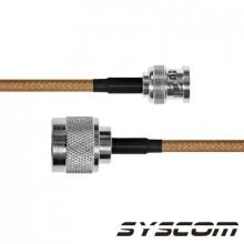 Sbnc142n60 Epcom Industrial Cable RG-142/U De 60 Cms Con Co