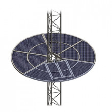 Som35 Syscom Towers Sistema Antiescala Tipo Sombrilla Para T