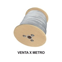 Syscom Sret18rs Cable De Retenida De 1/8 De Acero Galvanizad