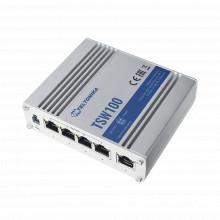 Tsw100 Teltonika Switch Industrial No-Administrable 5 Puerto