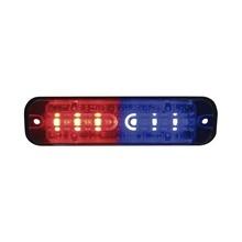 Ult6rb Code 3 Luz De Advertencia Rojo Azul SAE Clase I rojo-