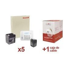 Vista482204kt5 Honeywell Kit De 5 Paneles VISTA48 Con Bateri