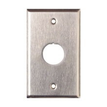 Xfps01ss Siemon Placa De Pared Reforzada De Acero Inoxidabl
