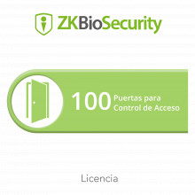 Zkbsac100 Zkteco Licencia Para ZKBiosecurity Permite Gestion