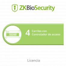 Zkbsparkac4 Zkteco Licencia Para ZKBiosecurity Para Modulo D