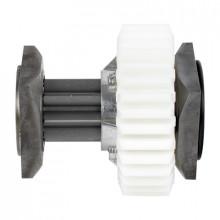 119rig051 Came Arbol Lento Con Engrane De Plastico Para Barr