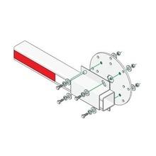 1601241 Dks Doorking Kit De Instalacion Para Brazos De Plast