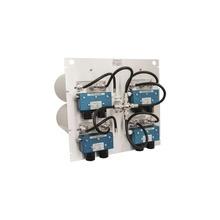 M1074504tp Telewave Inc Combinador En Panel Para Rack 19 40