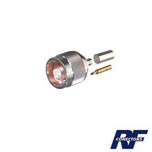 Rfn1005b03 Rf Industriesltd Conector N Macho De Anillo Pleg