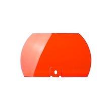 Spl2r Federal Signal Lente De Color Rojo Para Modelo 450142-