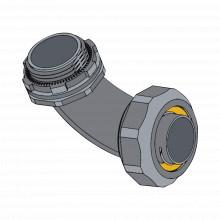 Anchlc12 Anclo Conector Curvo Para Tubo Tipo Liquidtight De